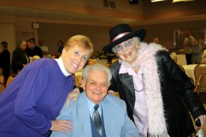 Dee J. Valentine celebrates 100 years of life with his 200 friends and family just four weeks after he enters hospice.