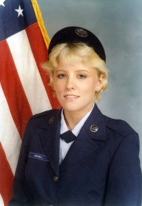 Heidi Gonzalez is a veteran who now serves veterans and their families at Hospice Care of the West.  Courtesy of Heidi Gonzalez